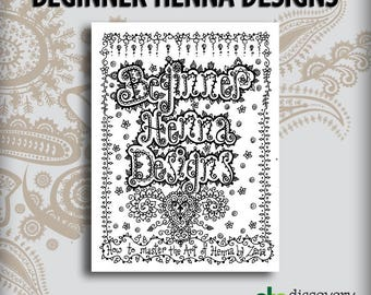 Beginner Henna Design Book