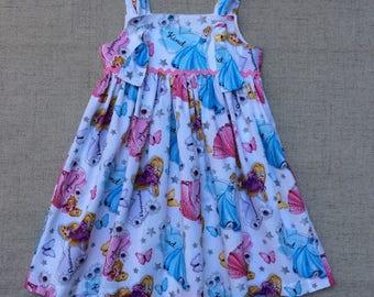 Cinderella and Rapunzel Knot Dress, Princess Knot Dress, Disney Knot Dress, Handmade knot dress