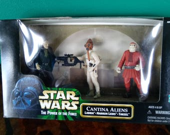 Star Wars Power of the Force Cantina Aliens 1990's Kenner
