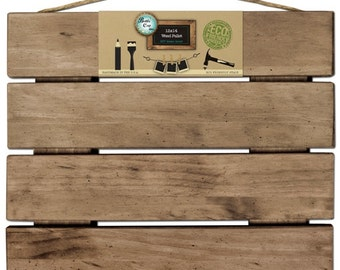 Pallet - Weathered Wood for Home Decor & Crafting - 12x14