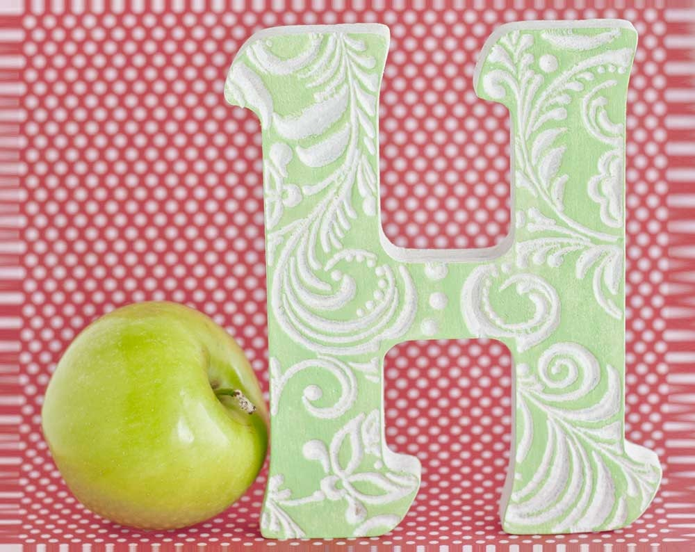 Baby letterLetters H wedding letter letter gifts fancy