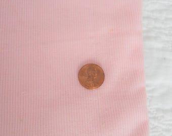 "Pale Pink Thin Wale Corduroy Yardage 46"" W x 64"" L"