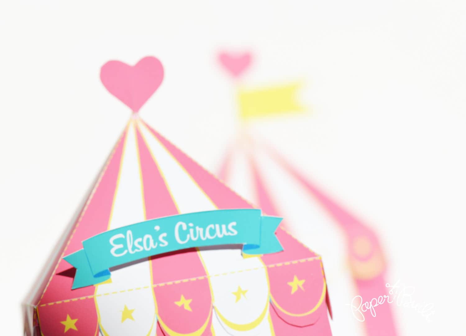 ?zoom  sc 1 st  Etsy & Circus Tent Favor Box Gift Box Girly Party Circus Party