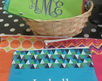 Boutique-Personalized-Monogrammed Pencil Cases