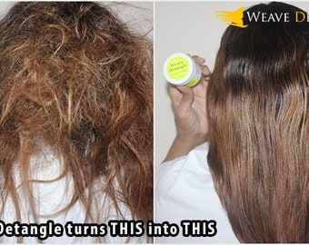 Weave Detangle Delivery Kit-(Put your hair in the Kit,drop the Kit in the mail.We Shampoo & Detangle your hair for you)WIG EXTENSION SHAMPOO