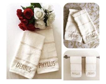 Unicorn hand towel, Personalized unicorn hand towel, Unicorn bathroom towel,  Unicorn bathroom decor