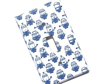 Minions Light Switch Plate Cover