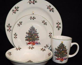 Christmas plate mug | Etsy
