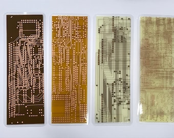 CIRCUIT BOARD BOOKMARKS Innerlayer 6x2 inch unique geekery gift