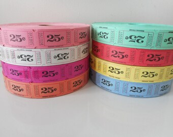 25 Cent Raffle Tickets