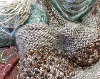 Just Add Needles - The Screen Between Us Scarf Kit
