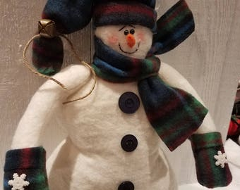 Snowman,Snowman shelf sitter,Snow people,Country snowman,Primitive snowman,Christmas decor,Winter decor,Holiday decor,Home decor
