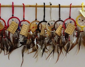 DreamCatchers, variety of colours and sizes