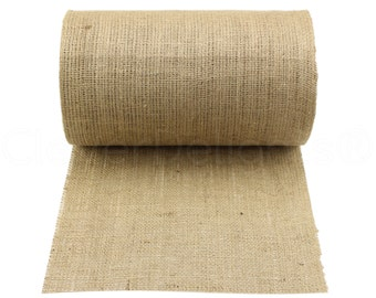 "50 Yards - 14"" Natural Burlap Roll - Construction Grade - CLOSEOUT - Eco-Friendly Natural Jute Burlap Fabric - 14 Inch"