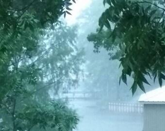 Summer Storm on Lake Palestine at Berryville, TX