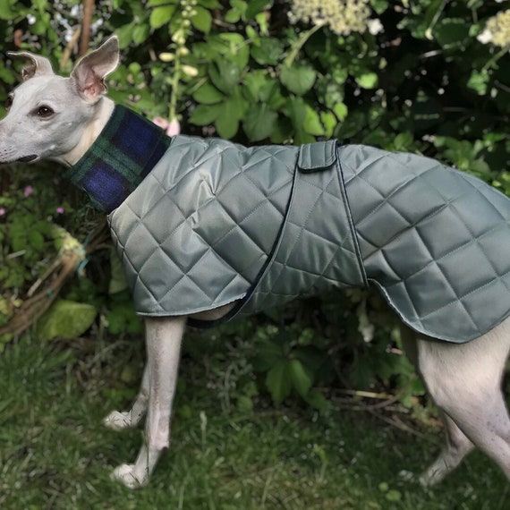 Whippet and greyhound winter waterproof fleece lined coats