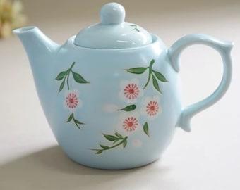 Floral spring vibe tea set 4 tea cups