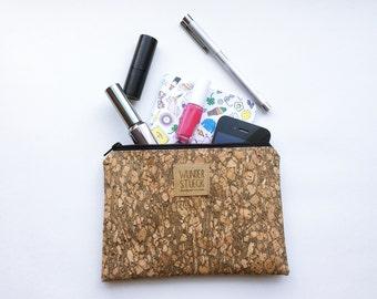 Cork Handtaschenorganizer with gold effects