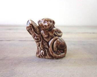 Wade Whimsies Rose Tea Miniature Langor Monkey Lemur Figurine
