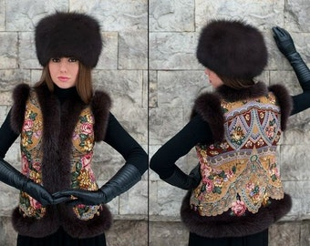Designer Vests for Women.  Russian style.