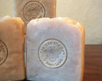 So Fresh~So Clean - Artisan Soaps with Tea Tree Essential Oil & Botanicals / Organic Hemp Powder, Calendula / Bath Body Shower Bath