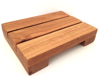 Salvaged Wood Soap Tray