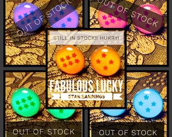 Fabulous Lucky Star Earrings