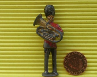 Vintage lead soldier figure