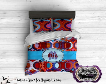 Funky Girls   Bedding Custom Design and Personalized Comforter or Duvet with Monogram