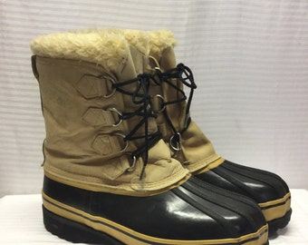 Rubber boots, Leather, Duck, Boots, Rain Boots, Mens 11