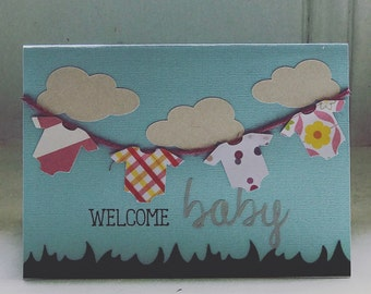 Personalized Baby Shower Card
