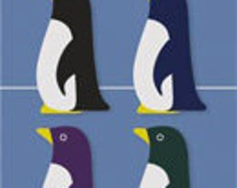Point markers - Penguin Sticky Notes