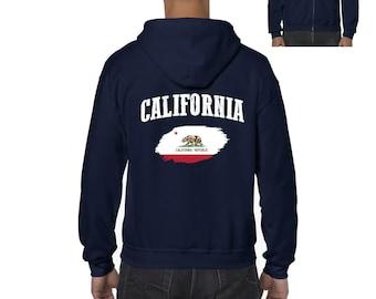 California Hates You Hoodie - Men S M L XL 2x 3x - Gift for Men, Her, Sweatshirt, Funny Hoody, Cali Hates You Hoody, Hater Hoody Los Angeles