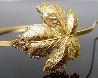 fig leaf head band