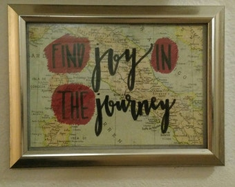 Find Joy in the Journey Postcard