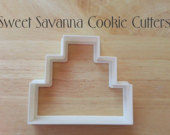 3 Tier Cake Cookie Cutters No.2
