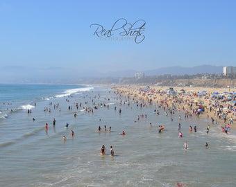 The Beach at Santa Monica