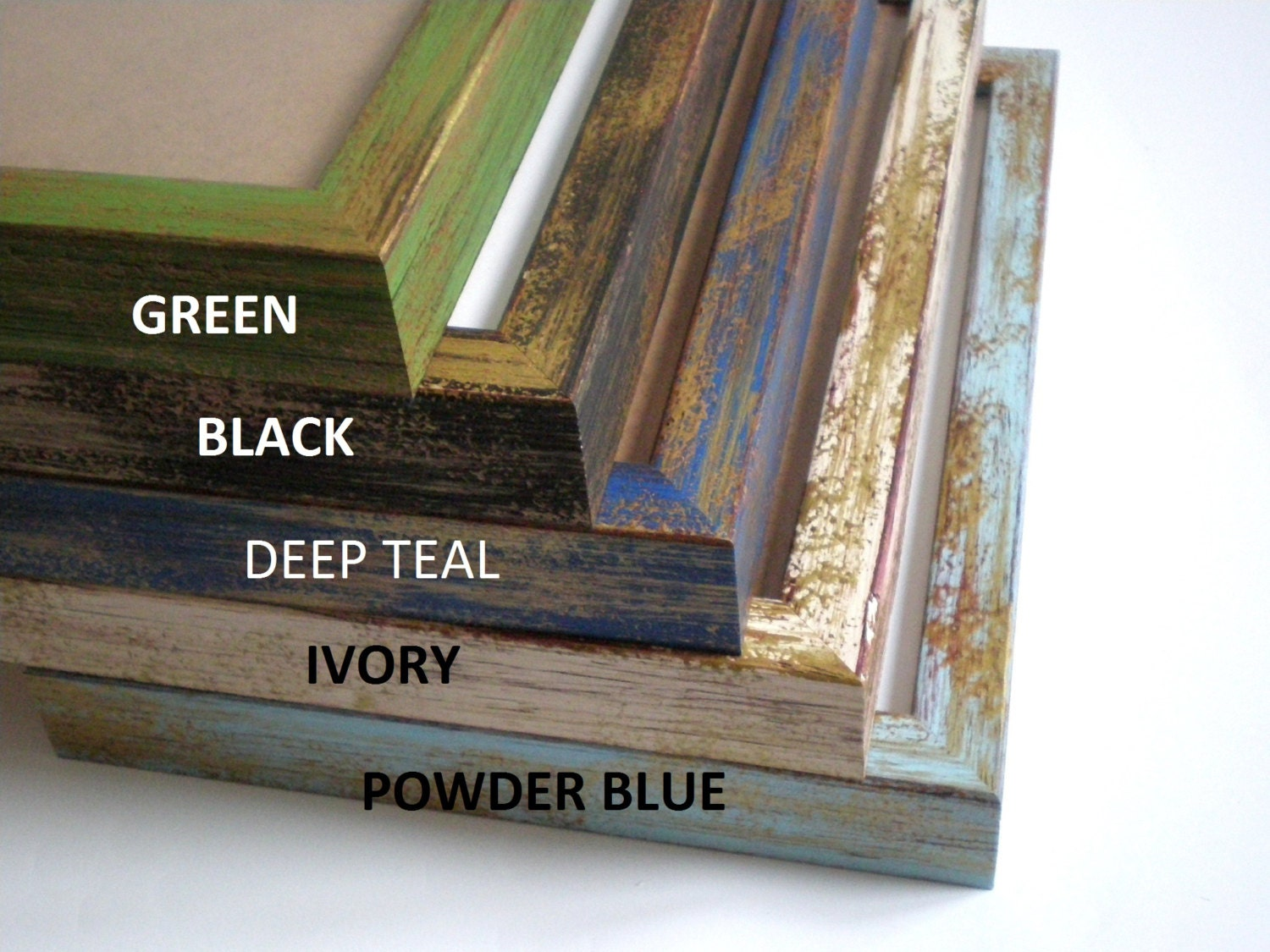 A2 picture frame rustic frame distressed photo frame retro frame ...