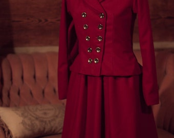 Edwardian Women's Walking Suit - Custom Size - Custom Fabric