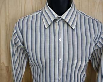 Stacy Adams Shirt. Men's Button Up. Dress Shirt. X Large. Vintage. Retro Men's Wear. Abstract Pattern. Evening Wear. Cool Urban Streetwear. Bz63GIqc