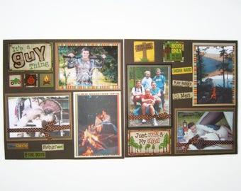 Men Scrapbook Pages - Boy scrapbook pages - Guy Scrapbook pages - Men scrapbook layouts - Boy Scrapbook Layouts - Guy Scrapbook Layouts