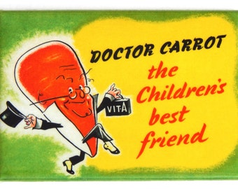 Doctor Carrot Fridge Magnet