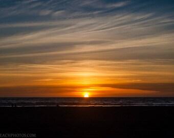 Sunset,Venice Beach,High Quality Print,Premium Lustre