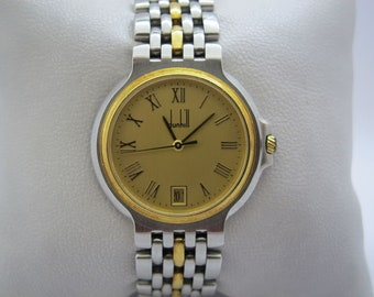 "The Dunhill ""Elite"" Woman Wristwatch - Gold 18K"