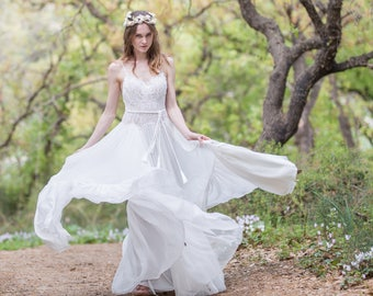 Gypsy wedding dress | Etsy