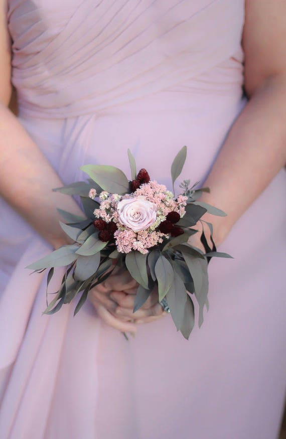 Dried Flower Bouquet Single Flower BouquetSmall Bridesmaid