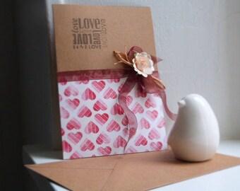 Card Valentine - Valentine's day cards, handmade
