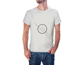 Satelite Planet  - Cool Modern T-Shirt - Tees with Vinyl (J412)