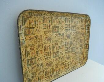 Farmhouse Tray - Vintage Tray - Americana Tray - Antique Tray - Decorative Tray - Vintage Kitchen Tray