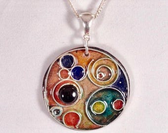 Moons of Jupiter necklace
